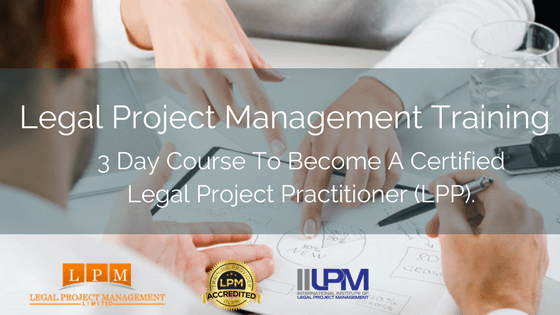 Legal Project Management Training 2018 v2