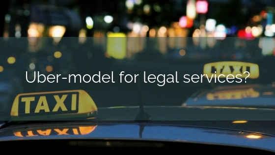 Uber-model For Legal Services?