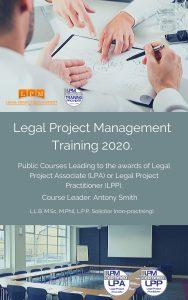 Legal Project Management Training Course 2020 Prospectus