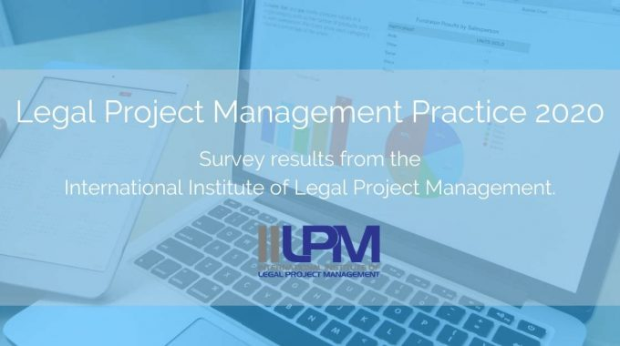 Legal Project Management Practice 2020